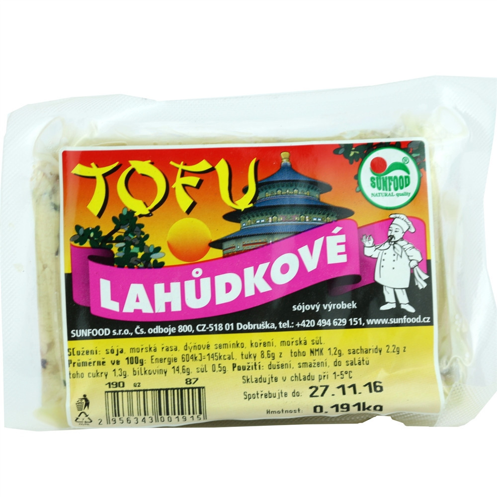Tofu lahůdkové - Sunfood 100g