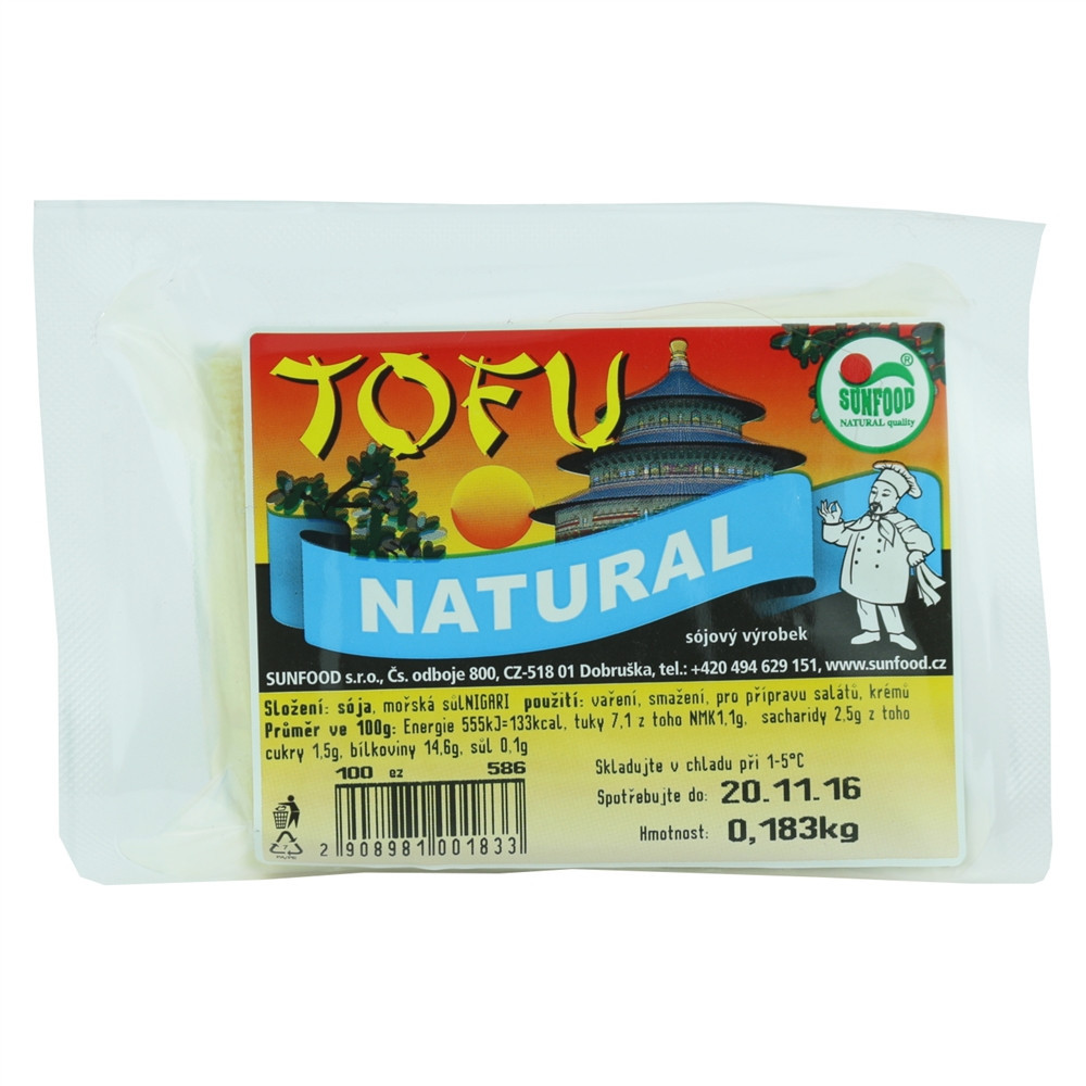 Tofu natural - Sunfood 100g