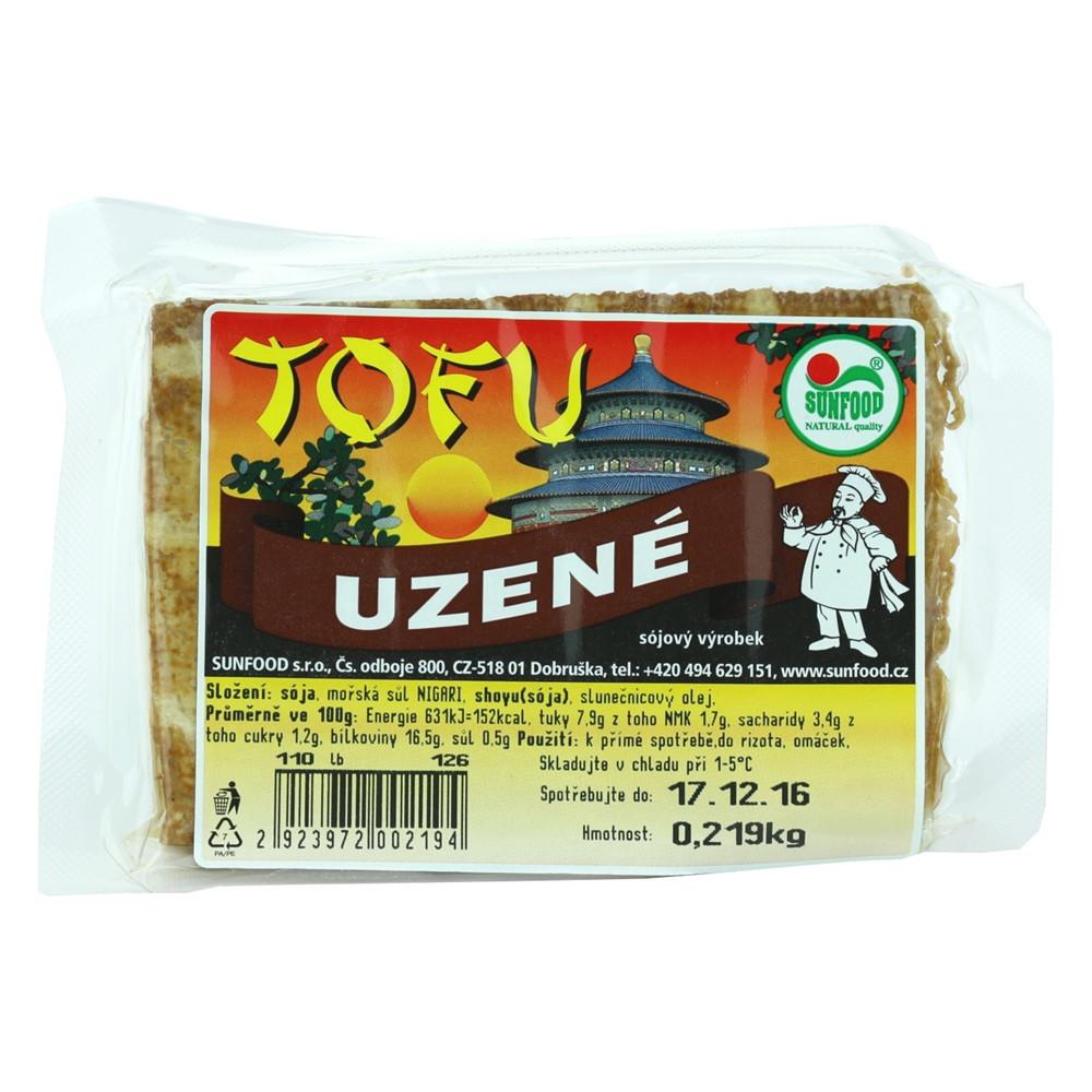 Tofu uzené - Sunfood 100g