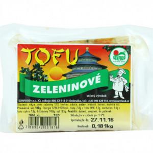 Tofu zeleninové - Sunfood 100g