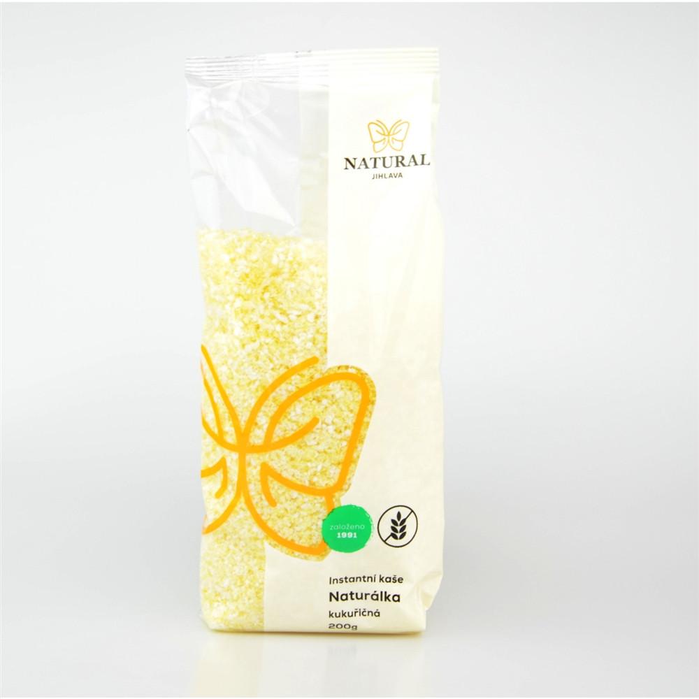 Naturálka kukuřičná - bezlepková instantní kaše - Natural 200g