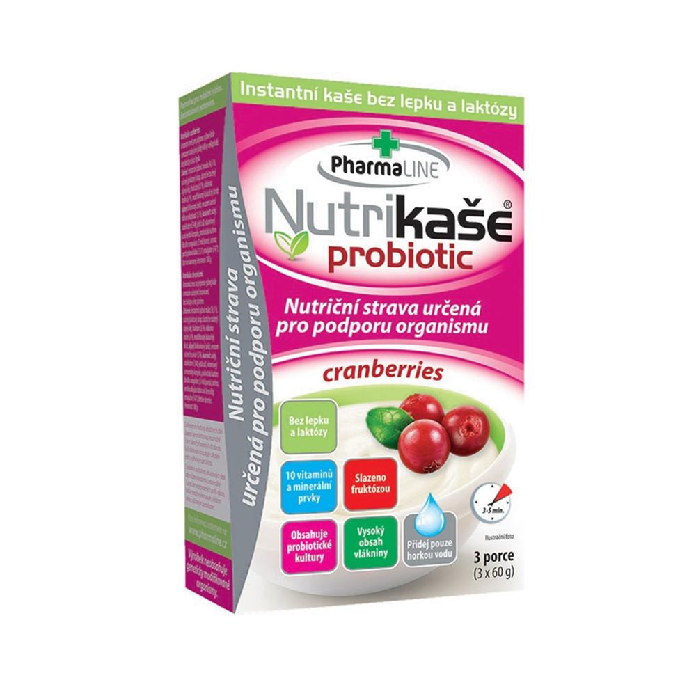 Nutrikaše probiotic brusinková - Mogador 3x60g