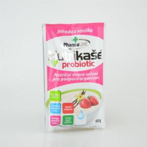 Nutrikaše probiotic s jahodami a vanilkou jednoporcová - Mogador 60g