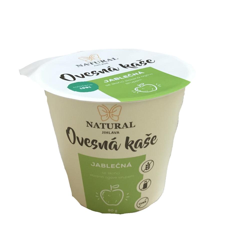 Ovesná kaše bez lepku jablečná - Natural 80g