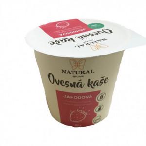 Ovesná kaše bez lepku jahodová - Natural 80g