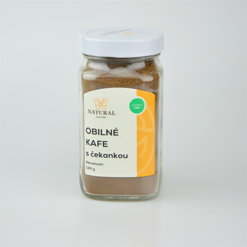 Kafe obilné s čekankou - Natural 130g