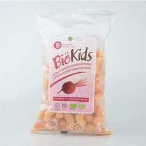 Dětské bezlepkové křupky s červenou řepou BIO - BioKids 55g
