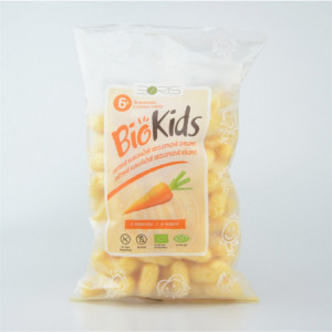 Dětské bezlepkové křupky s mrkví BIO - Biokids 55g