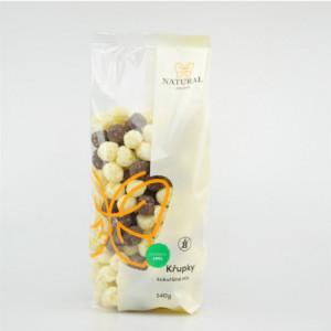 Křupky kukuřičné mix jogurt - čokoláda - Natural 140g