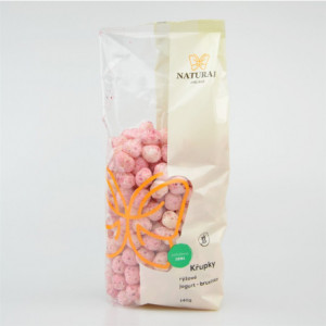 Křupky rýžové jogurt - brusinka - Natural 140g