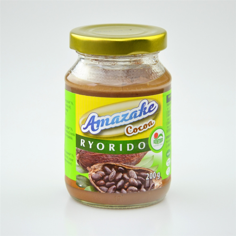Amazaké rýžové s kakaem BIO - Sunfood 200g