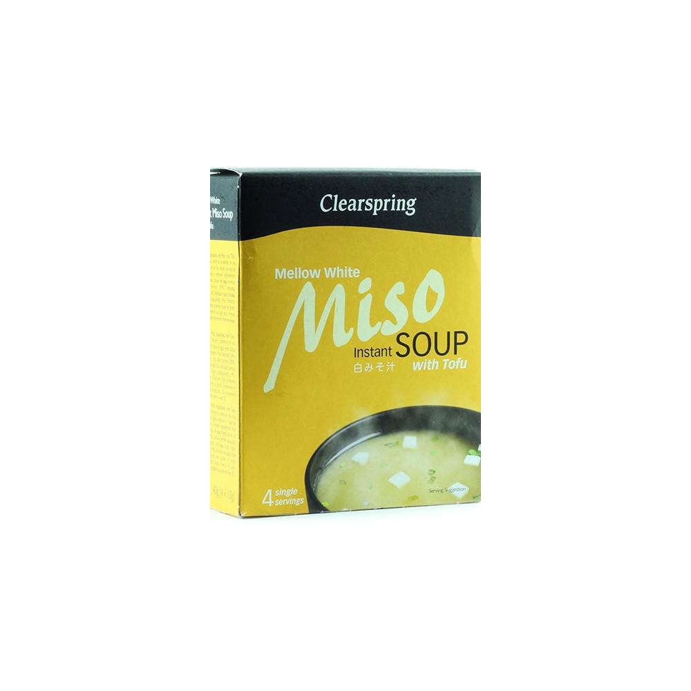 Miso instantní polévka jemně bílá s tofu 40g