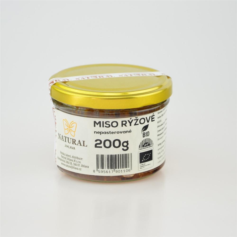 Miso rýžové BIO - Natural 200g