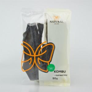 Mořské řasy Kombu - Natural 50g