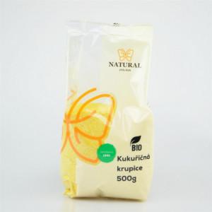 Krupice kukuřičná BIO - Natural 500g