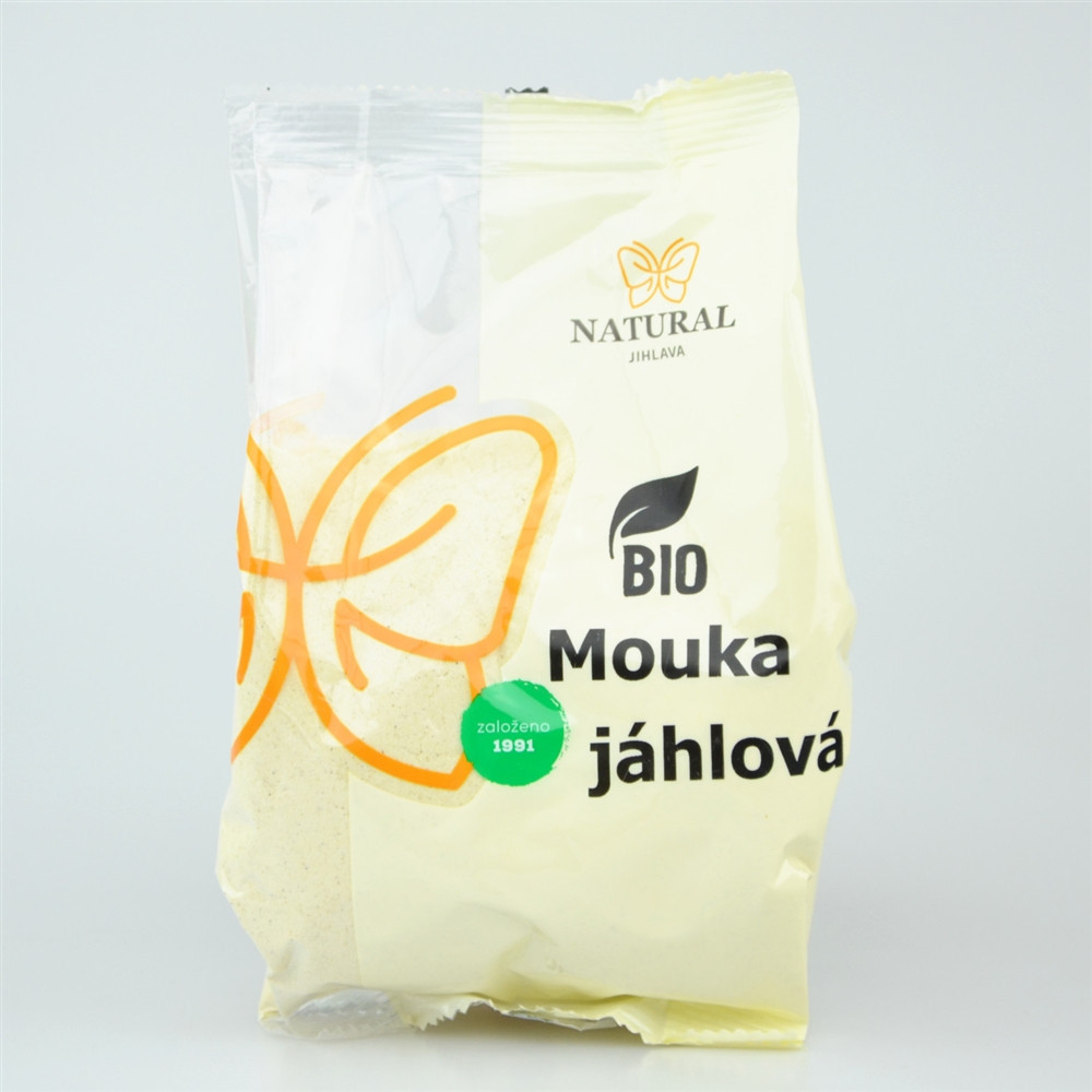 Mouka jáhlová BIO - Natural 300g
