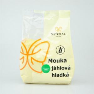 Mouka jáhlová hladká - Natural 300g