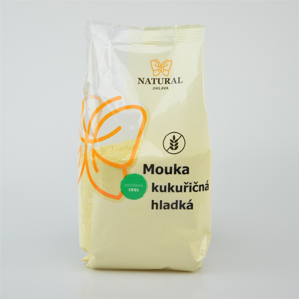 Mouka kukuřičná hladká - Natural 400g