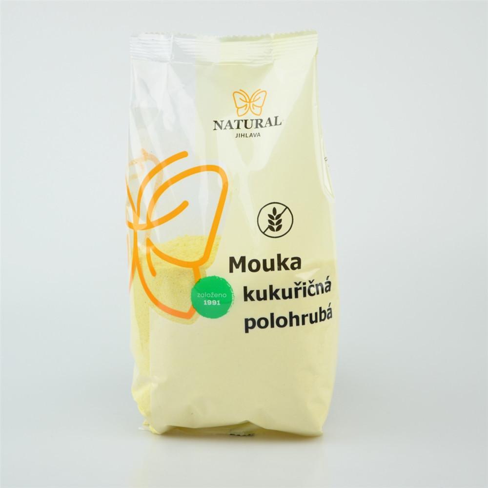 Mouka kukuřičná polohrubá - Natural 400g
