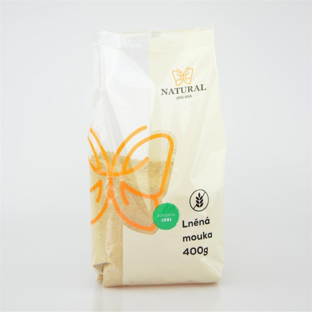 Mouka lněná - Natural 400g
