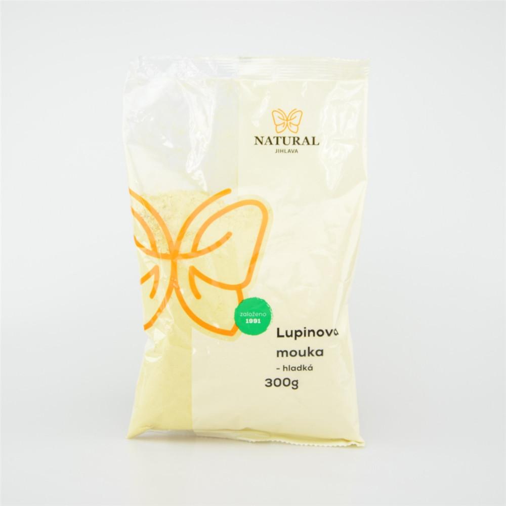 Mouka lupinová hladká - Natural 300g
