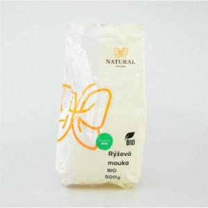 Mouka rýžová BIO - Natural 500g