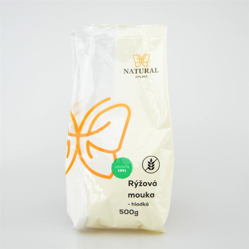 Mouka rýžová hladká - Natural 500g