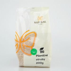 Otruby pšeničné BIO - Natural 200g