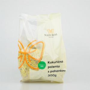 Polenta kukuřičná s pohankou - Natural 300g