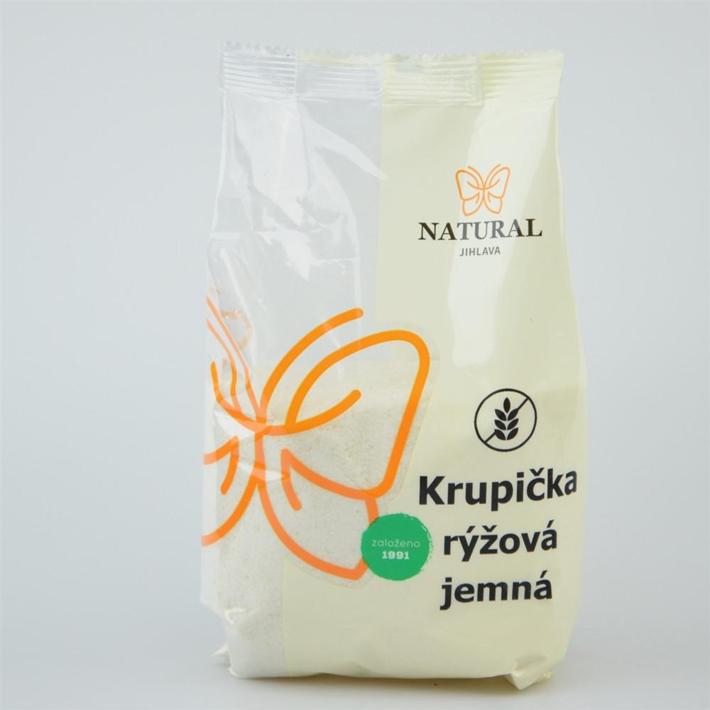 Rýžová krupička jemná - Natural 500g