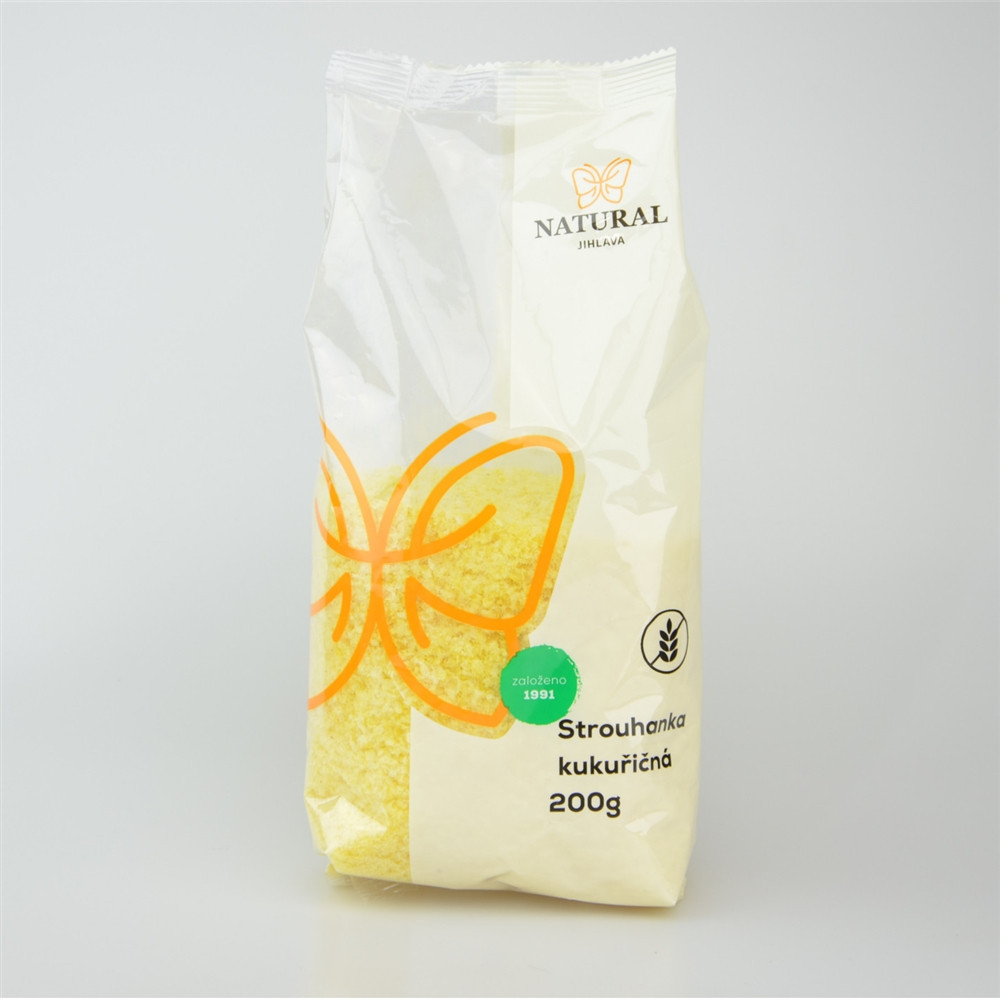 Strouhanka kukuřičná - Natural 200g