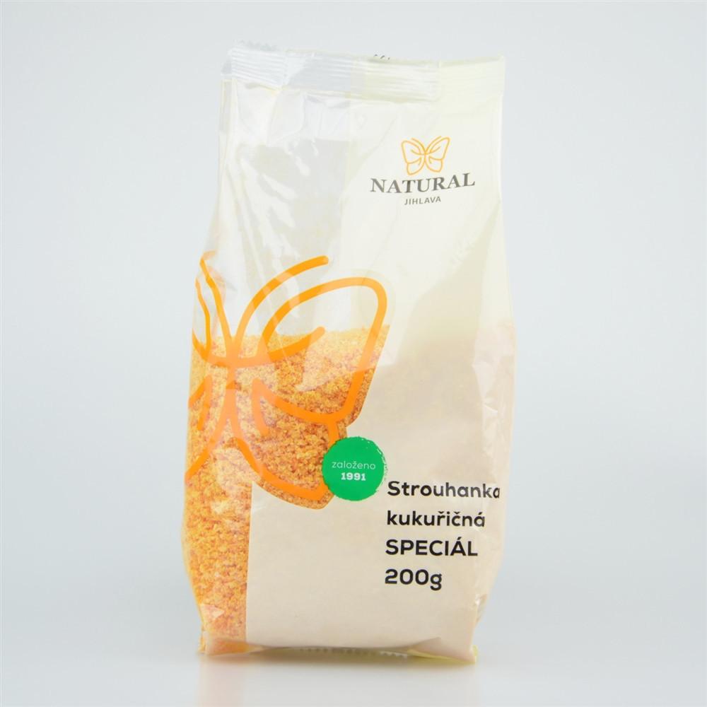 Strouhanka kukuřičná speciál - Natural 200g