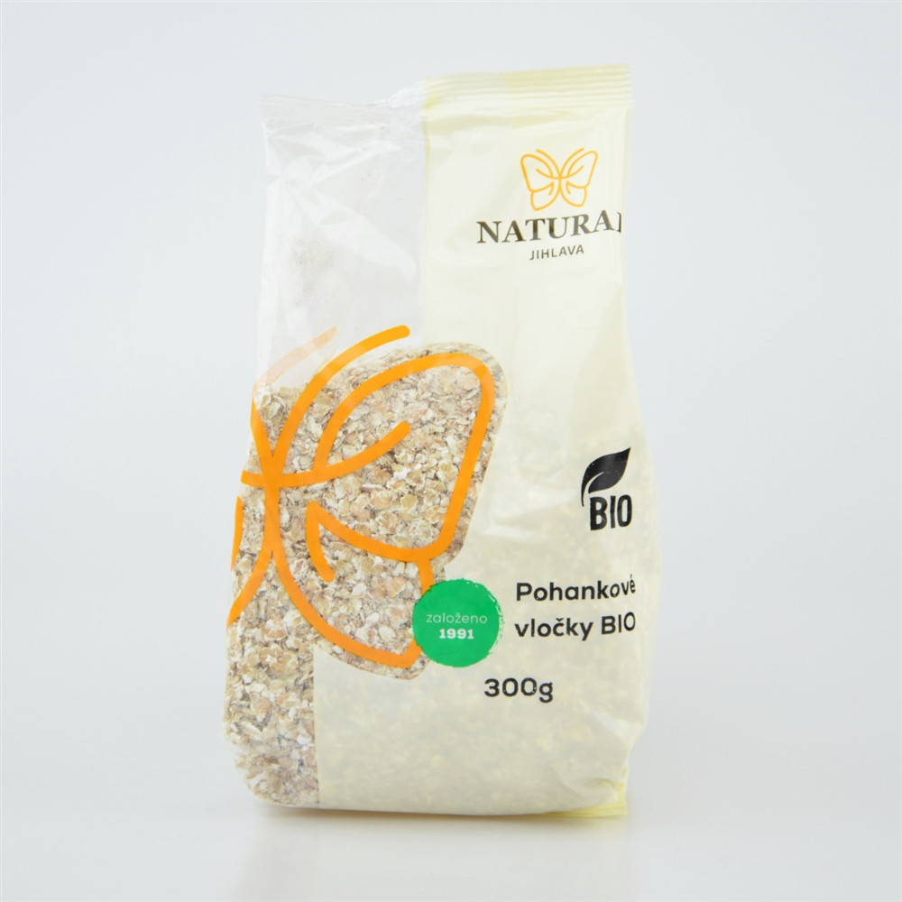 Vločky pohankové BIO - Natural 300g