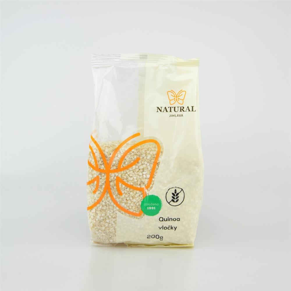 Vločky quinoa bez lepku - Natural 200g