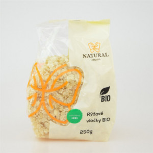 Vločky rýžové BIO - Natural 250g