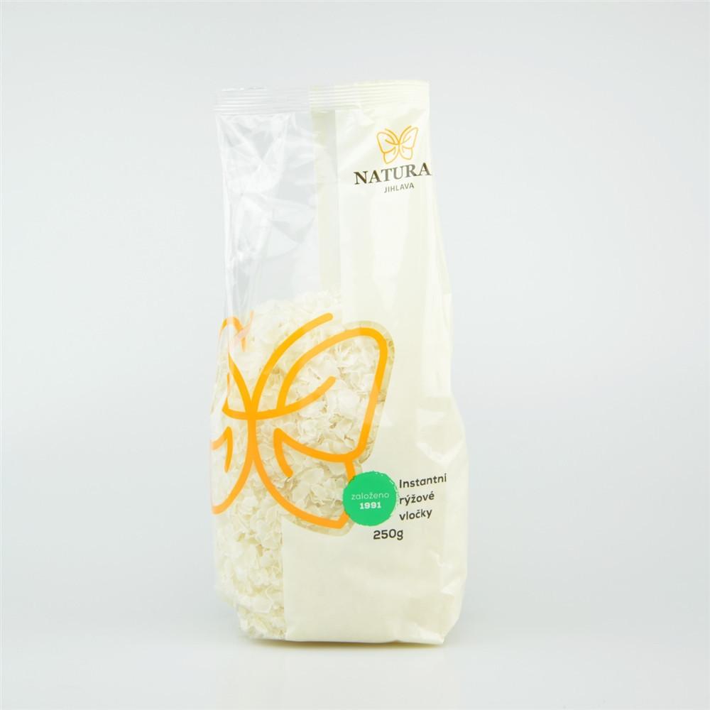 Vločky rýžové instantní - Natural 250g