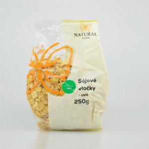 Vločky sójové celé - Natural 250g
