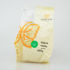 Vločky sójové jemné - Natural 250g