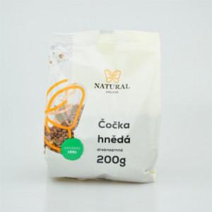 Čočka hnědá drobnozrnná - Natural 200g