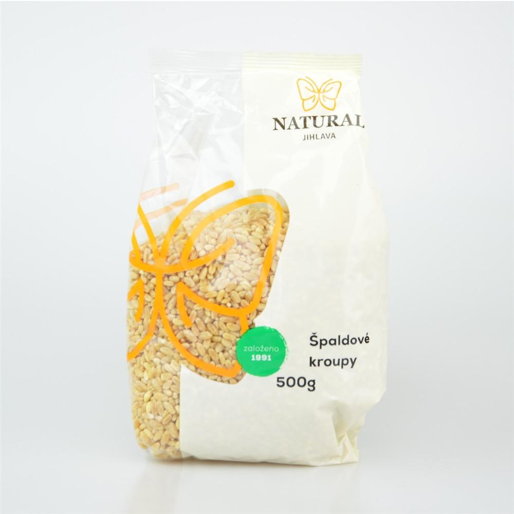 Kroupy špaldové - Natural 500g