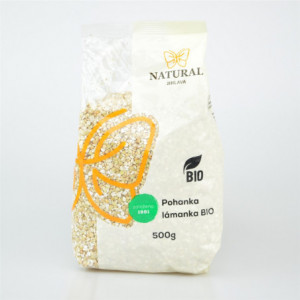 Pohanka lámanka BIO - Natural 500g
