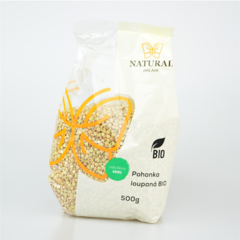 Pohanka loupaná kroupa BIO - Natural 500g