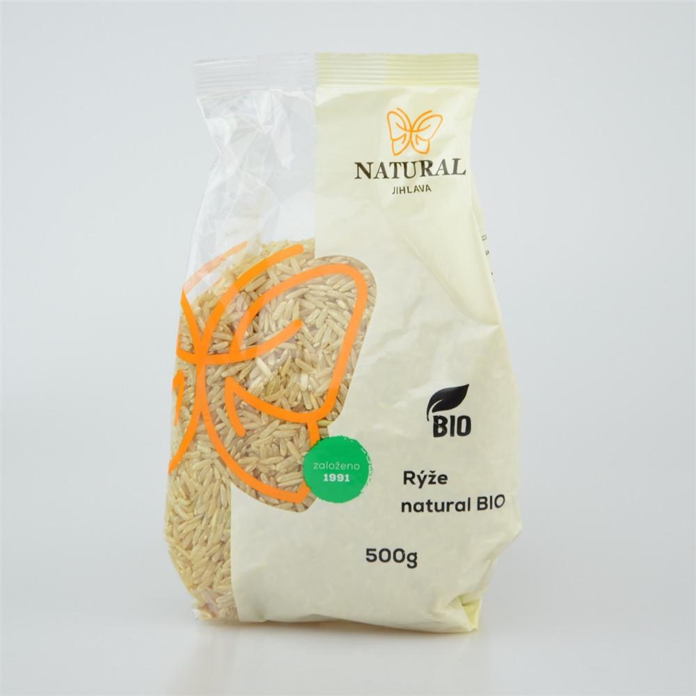Rýže natural BIO - Natural 500g