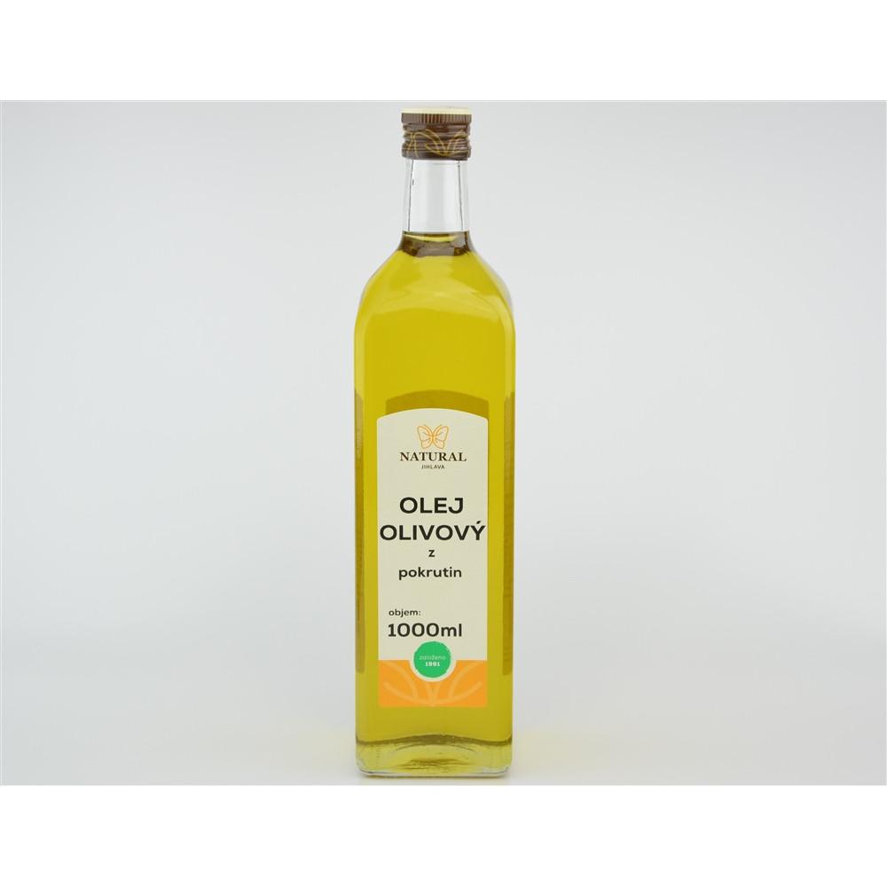 Olej olivový z pokrutin - Natural 1000ml