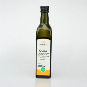 Olej olivový za studena lisovaný - Natural 500ml
