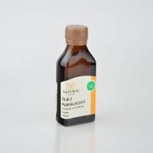 Olej pupálkový za studena lisovaný - Natural 100ml