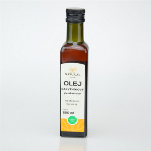 Olej rakytníkový - směs za studena lisovaných olejů - Natural 250ml