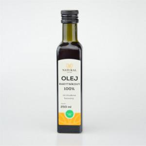 Olej rakytníkový 100% za studena lisovaný - Natural 250ml