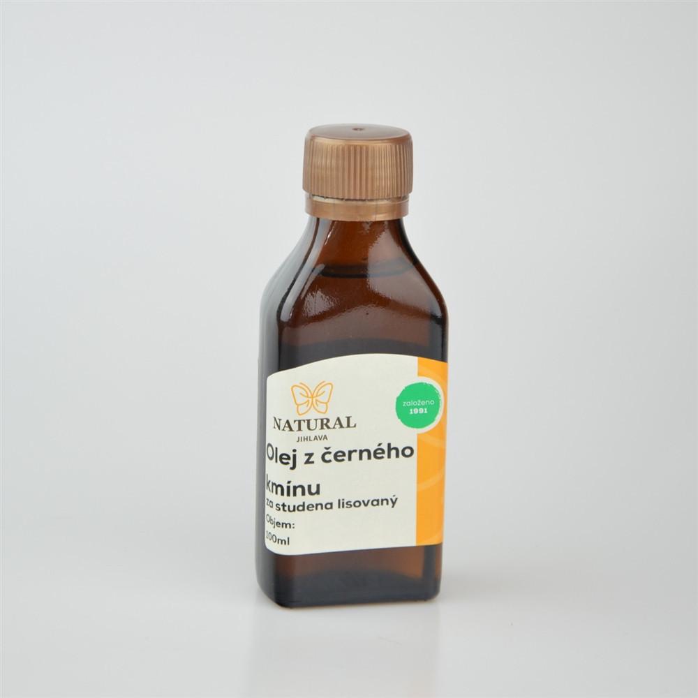 Olej z černého kmínu za studena lisovaný - Natural 100ml