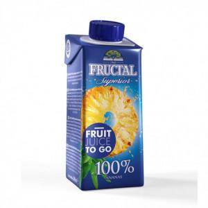 100% ananasová šťáva - Fructal 200ml